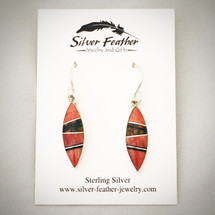 Inlay Earrings 94-892