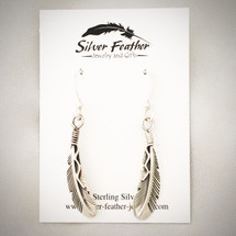 Feather Earrings 50-651