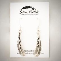 Feather Earrings 50-651