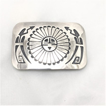 Sun Face Belt Buckle-2016-44