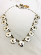 Dogwood Flower Necklace 2048