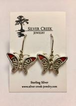 Butterfly Wing Earrings 2069