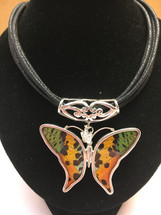 Butterfly Wing Necklace 2070