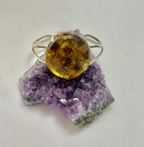 Amber Cuff Bracelet-2073