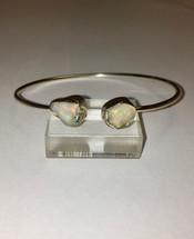 Rough Ethiopian Opal Cuff Bracelet 3003