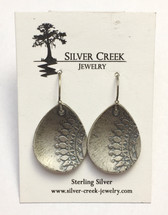Oxidized Sterling Silver Earrings 3012