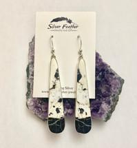 White Buffalo Earrings- 3060