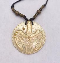 Dan Townsend Shell Carving-Anhinga Water Bird 3099