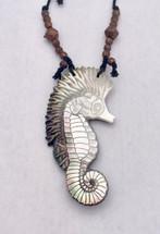 Dan Townsend Shell Gorget- Sea Horse 3101