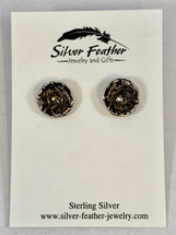"3/8"" Post Earrings 3150"