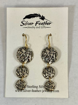 Silver Dangle Earrings 3152