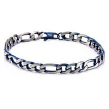 Stainless Steel Figaro Bracelet 3199