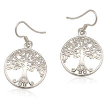 Round Tree of Life Earrings 3213