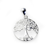 Round Tree of Life Necklace-Medium 3216