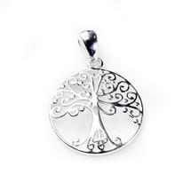 Round Tree of Life Necklace-Medium 3216