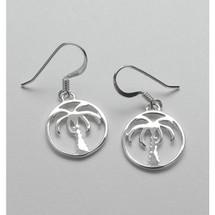 Palm Tree Earrings 3220