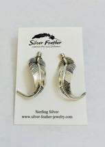 Feather Earrings- 3253