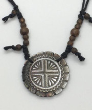 """Dan Townsend Shell Gorget - """"Little Brother of the Sun"""" 3317"""