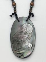 Dan Townsend Shell Gorget - Owl 3318