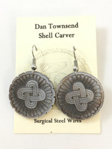 Dan Townsend Shell Gorget - Earrings 3330