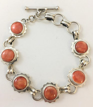 Orange Spiny Oyster Shell Bracelet 3346
