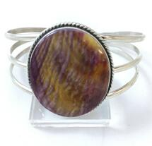 Sunset Spiny Oyster Shell Bracelet 3352