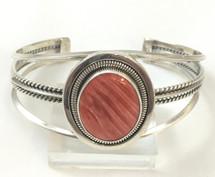 Orange Spiny Oyster Shell Bracelet 3353