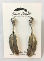 Feather Earrings 3362