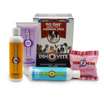 Dinovite Combo Package Medium Dog (15 - 45 lbs) - Dinovite