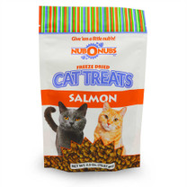 NUBONUBS Salmon Flavor (2.5 oz) Freeze Dried Cat Treats - Dinovite