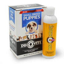 Dinovite For Small Breed Puppies & LICKOCHOPS Combo