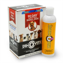 Dinovite For Small Dogs & LICKOCHOPS Combo