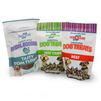 NUBONUBS Meal Booster & Treats Combo - Tasty Tom Turkey - Dinovite