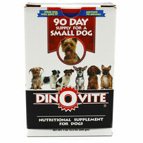 Dinovite Powder Small Dogs - (up to 15 lb Dogs)