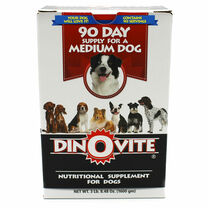 Dinovite Powder - Medium Dogs (15 - 45 lb Dogs)