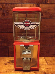 Harley Davidson-Themed Glass Globe Machine