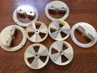 4 Sets of Northwestern Adjustable Candy Wheel and Brush
