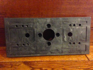 Double 2 Head Bracket Plate for Pipe Stand