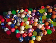 """500 Super Bouncy Balls 27mm 1""""  with FREE shipping!"""