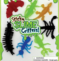 """500 pieces Sticky Critters in 1.1"""" Capsules - Free Display and Shipping!"""