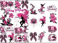 Pink & Black Sugar Tattoos -300 tattoos in vending sleeves