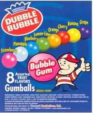 """1"""" Gumballs Dubble Bubble 850 Count Case"""