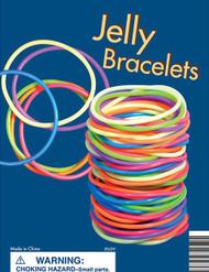 "Rubber Jelly Bracelets 250 1"" Capsules BIG Profit Item"