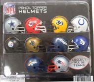 "NFL Helmets in 2"" Capsules 250 per Case"