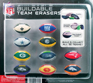 NFL Football Build-it-Yourself Football Erasers