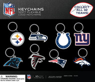 250 NFL Keychains for Capsule Vending Machines!
