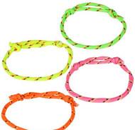 Neon Friendship Rope Bracelets 144 per Bag