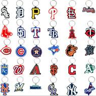 SOFT MLB Logo Key Chains all 30 Teams