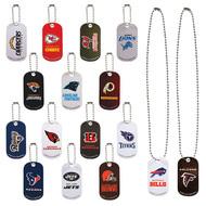 NFL Football Metal Dog Tags all 32 Teams