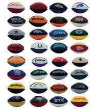 NFL Mini Footballs all 32 Teams Fun Toy and Eraser
